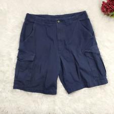Woolrich Deep Navy Blue Cargo Shorts Size 33