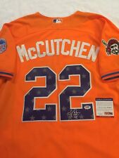 SAN FRANCISCO GIANTS ANDREW MCCUTCHEN signed 2013 ALL STAR GAME JERSEY PSA MVP