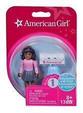American Girl MEGABLOK LOVELY SWEATER Lego Mini Figure Doll 2.5 Inches Tall NEW
