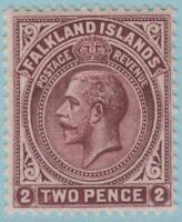 Falkland Islands 43 Mint Hinged OG * - No Faults Very Fine!