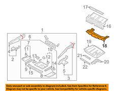 MINI OEM 02-04 Cooper Floor Rails-Rear-Underbody Shield 51757201782