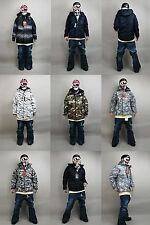 Ski Snowboard Jackets with Hoodie Boarding Suit S, M, L, XL, 2XL