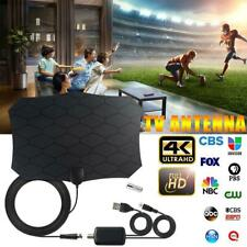 1080P 240 Miles Digital TV Antenna HDTV Indoor With Amplifier Signal Booster