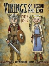 Vikings of Legend and Lore Paper Dolls by Kiri Ostergaard Leonard (2013,...