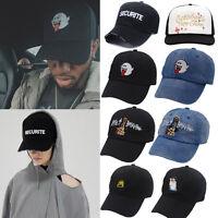 US Mens Womens Snapback Adjustable Baseball Cap Hip Hop Hat Cool Bboy Fashion