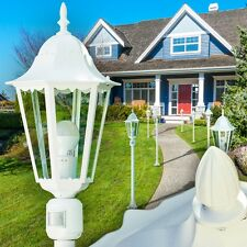 Außenstehlampe Bewegungsmelder Wege Lampe Garten Aussen Steh Leuchte Stehlampe