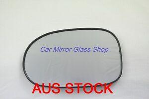 LEFT PASSENGER SIDE MIRROR GLASS FOR NISSAN PULSAR N16 2000-2006 (sedan only)