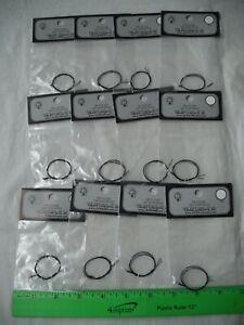 "Lot of 12 Cir-Kit Concepts CK-1010-6C, 16V Volt GOR Light Bulb, 40ma, 8"" Black"