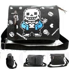 Undertale Sans Papyrus Skull Satchel Gift School Messenger Shoulder Bag Backpack