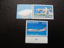 SUISSE - timbre yvert/tellier aerien n° 47 49 n** MNH (COL1)