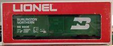 Lionel 6-9209 Burlington Northern Boxcar w/ uncommon stamped box
