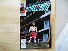 1990 VINTAGE MARVEL DAREDEVIL # 287 SIGNED 2X LEE WEEKS & ANN NOCENI TWITH POA