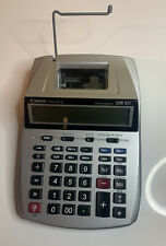 Canon Desktop Printing Calculator Adding Machine P23-DH V - w/ AC Power Adapter