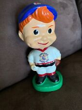 """Extremely Rare Vintage 1960's Cleveland Indians 5"""" Bobble Head Chief Wahoo Logo"""