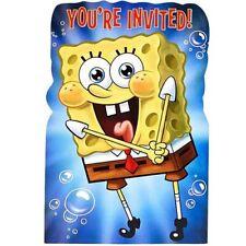 SPONGEBOB SQUAREPANTS Epic INVITATION SET (8) ~Birthday Party Supplies Invites