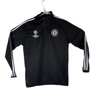 Chelsea FC UEFA Champions League Formotion Men's Size M Black Zip Up Jacket