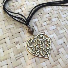 Love Hearts Leather Fashion Necklaces & Pendants