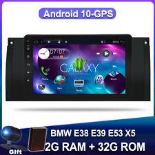 Android 10 Car Stereo Radio Head Unit For Bmw E38 E39 E53 X5 Gps Navigation Dab