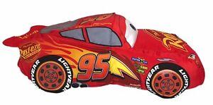 "Disney Lightning McQueen 18"" Reversible Flip-over Plush Stuffed Pillow Car"