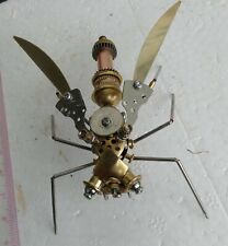 Steampunk, mechanical Wasp, very cool