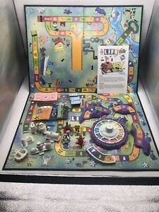 SpongeBob SquarePants Game o Life Game 2005 Milton Bradley Nick 100 % Complete