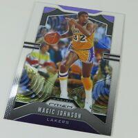Magic Johnson Panini Prizm 2019-2020 #25 LA Lakers NBA Basketball Sports Card