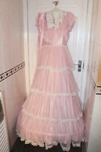 Ex Hire Ladies Small 1959 Sleeping Beauty Outfit Fancy Dress Costume
