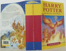 J.K. ROWLING Harry Potter and the Order of the Phoenix INSCRIBED FIRST EDITION