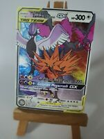 Articuno Zapdos Moltres Galarian Pokemon GX Tag Team Custom Card In Holo Proxy