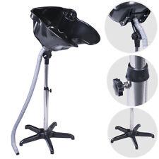 Height Adjustable Salon Hair Washing Basin Portable Mobile Backwash Shampoo Sink