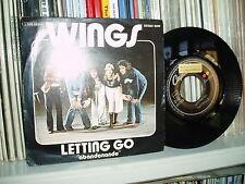 """WINGS 7"""" Abandonando Beatles unique CAPITOL P/C SPAIN Mint-"""