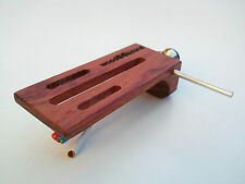Bubinga wood headshell whith SME connector / wooden custom headshell cartridge