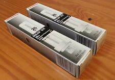 2x Sylvania Dulux D/E 26W Watt Compact Fluorescent Bulb 4 Pin CF26DD E 841 20669