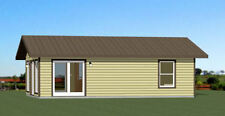 30x20 House -- 2 Bedroom 1 Bath -- 600 sq ft -- PDF Floor Plan -- Model 1
