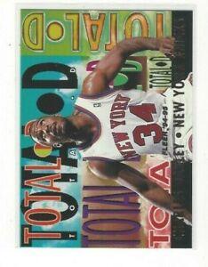 1994-95 FLEER BASKETBALL TOTAL D INSERT SERIES SINGLES