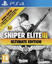 Snipers Elite 3 Ultimate Edition Sony Playstation PS4 Game 16+ Years