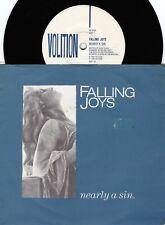 Falling Joys ORIG OZ Promo PS 45 Nearly a sin VG+ '88 Volition VOLT16 Indi Rock