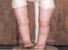 Jones Ceramic Porcelain Doll Molds ~ Straight Legs #216-B ~ New