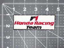 HONDA F1 RACING TEAM FORMULA 1 LOGO CAR BIKER FORMULA RACING MECHANIC PATCH -USA