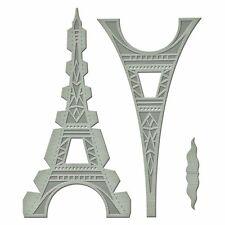 SPELLBINDERS A Gilded Life LE TOUR EIFFEL  3 Dies GLD-010 Cut Deboss PARIS