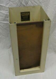 Henry Weis WEISTEEL Shower Cabinate Salesman Sample Store Display PERI-SILK