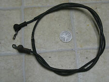 84 YAMAHA YTM225DX TRI-MOTO STARTER MOTOR CABLE LEAD WIRE STARTING
