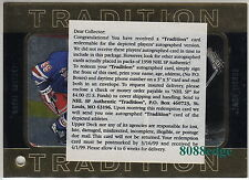 "1998 SP AUTHENTIC DUAL AUTO REDEMPTION CARD:WAYNE GRETZKY/GORDIE HOWE""TRADITION"""
