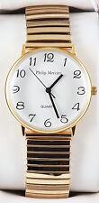 Philip Mercier Herren Quarz Armbanduhr. Marke Neu & Verpackt.