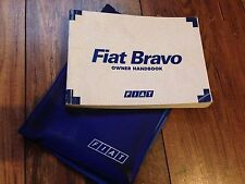 FIAT BRAVO OWNERS HANDBOOK MANUAL & WALLET SET 1995 -2001  3 DOOR HATCH 16V JTD