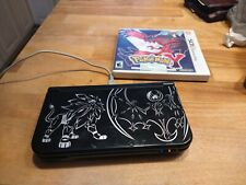 New listing Nintendo New 3Ds Xl Pokemon Sun and Moon Solgaleo Lunala Black Edition *Bundle*