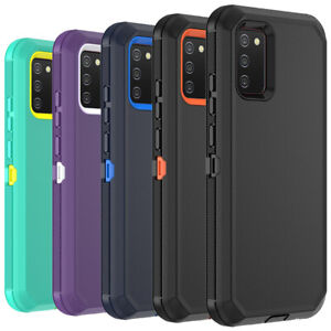 For Samsung Galaxy A51 A71 5G 4G A12 A02S Case Shockproof Heavy Duty Armor Cover