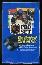 1990-91 Pro Set Series 1 Hockey Wax Box - Factory Sealed