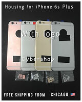 Back Rear Motherboard Housing Middle Frame Replacement for iphone 6S Plus++tools