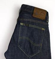 Lee Herren Sekretärin Gerades Bein Jeans Größe W32 L32 AMZ648